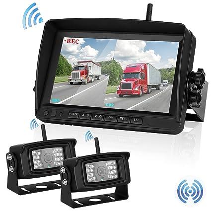 Amazon Com Wireless Backup Camera For Trailer Rv Truck Digital