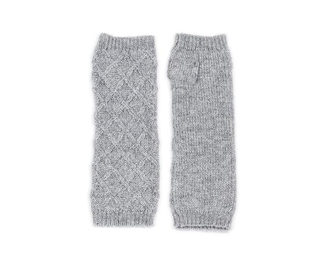 100 Cashmere Fingerless Gloves 28 2 Mongolian Yarn Composition 2