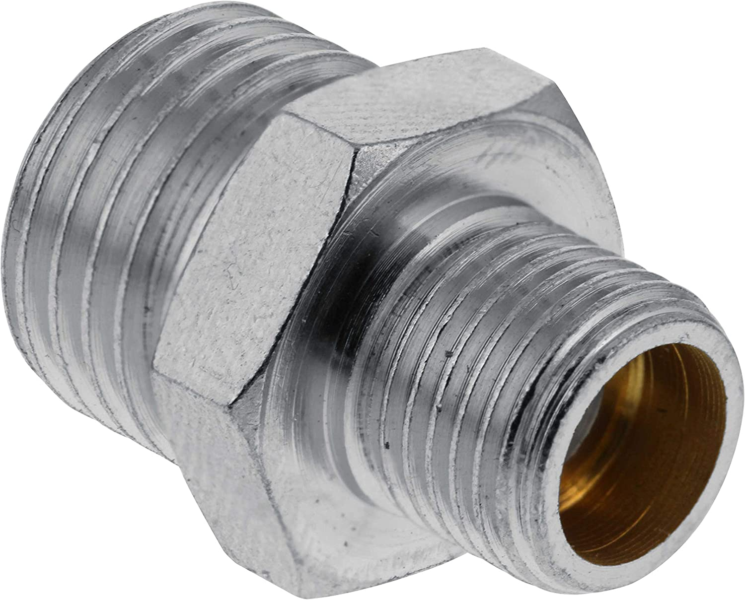 Airbrush Air Hose Adaptor Fitting 1//4/'/' BSP Female to 1//8/'/' BSP Male Connector