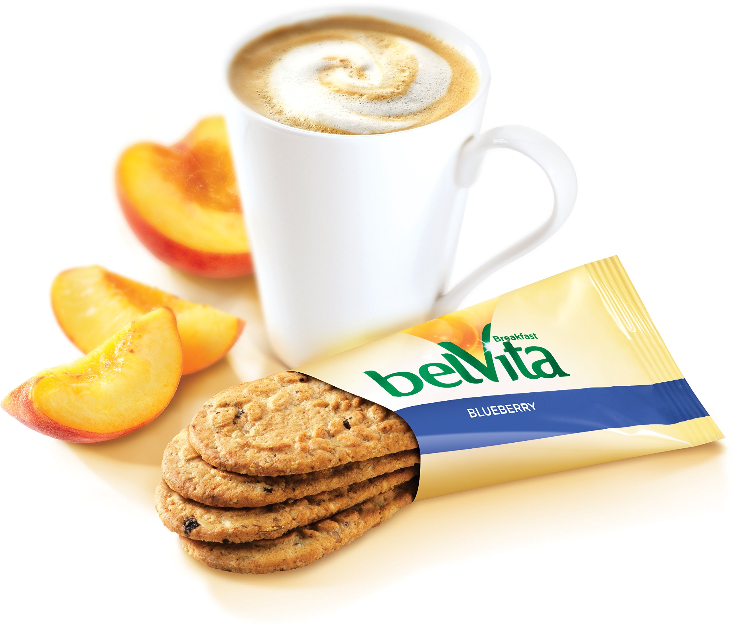 belVita Blueberry Breakfast Biscuits, 5 Count Box, 8.8 Ounce (Pack of 6) by Belvita (Image #1)