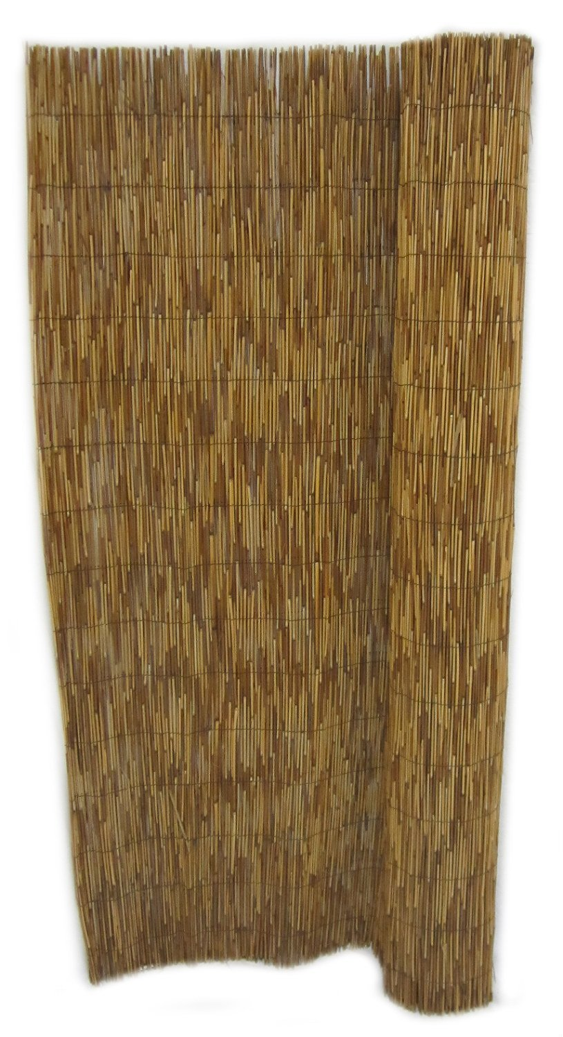 FOREVER BAMBOO 2-pack 6' X 16' Coffee Reed Fencing