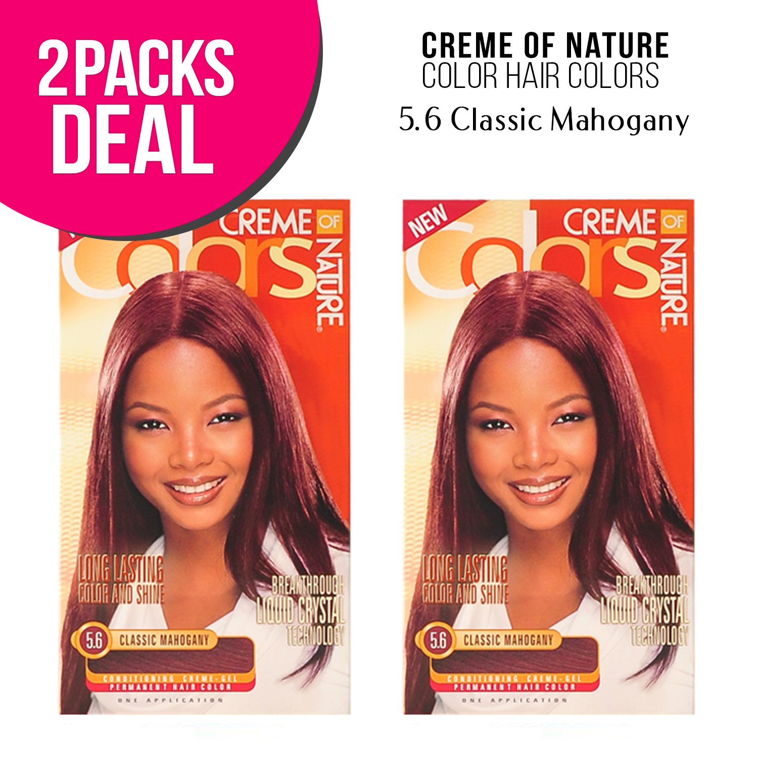 Amazon Creme Of Nature Color Hair Colors 2 Pack 465