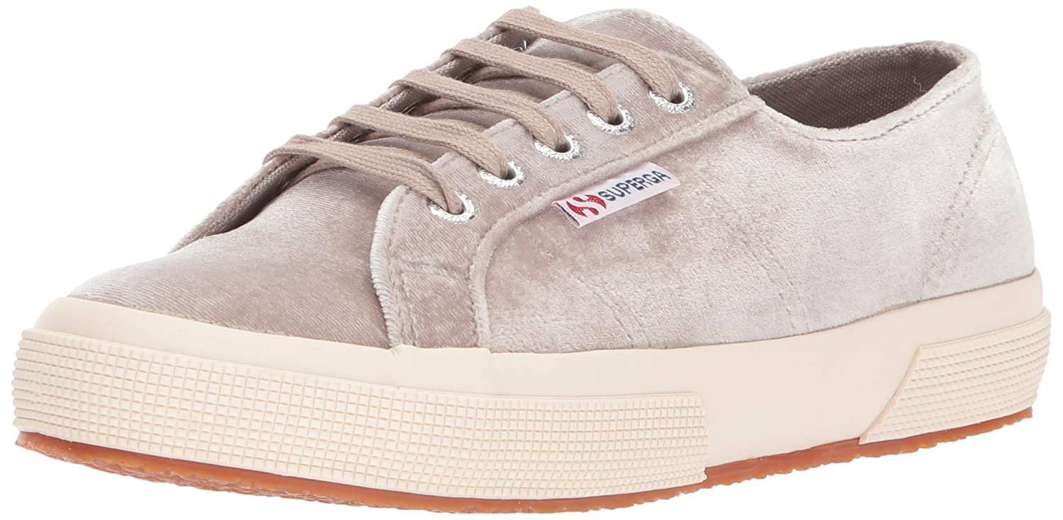 Superga Women's 270 Velvetjpw Fashion Sneaker B072Q341XW 39.5 M EU / 8.5 B(M) US|Grey Velvet