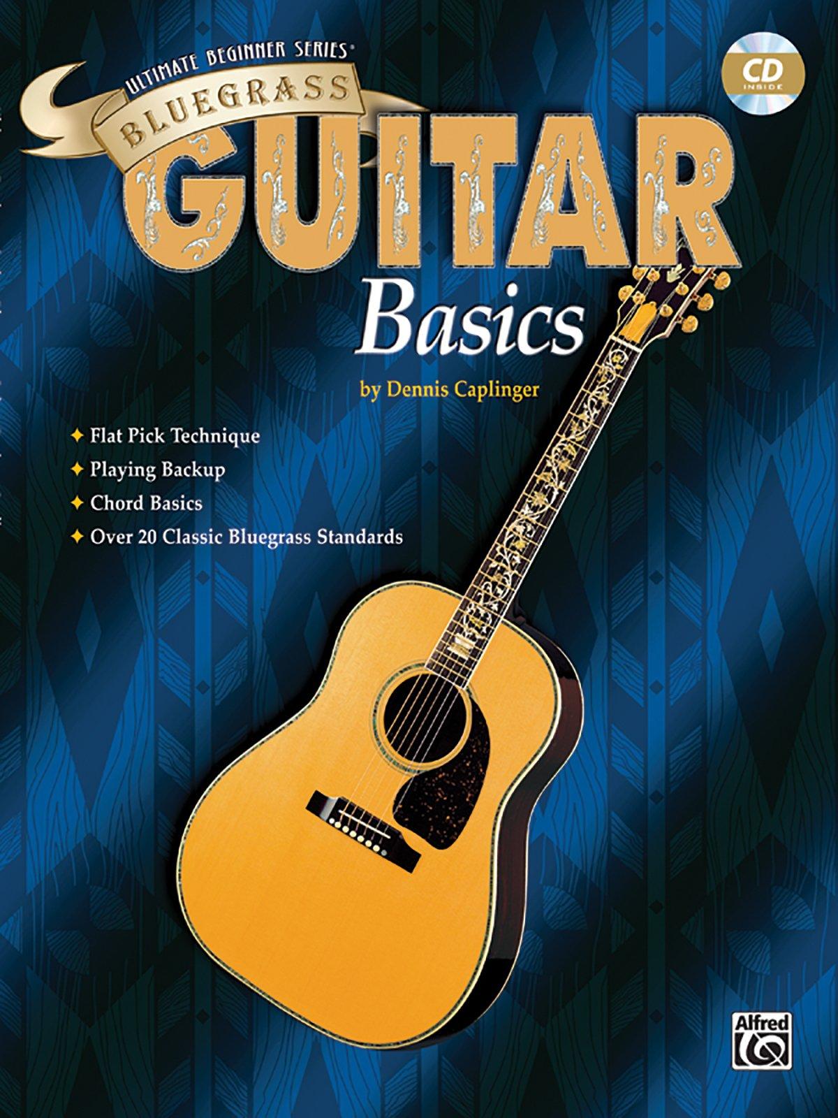 Download Ultimate Beginner Bluegrass Guitar Basics: Book & CD (The Ultimate Beginner Series) pdf
