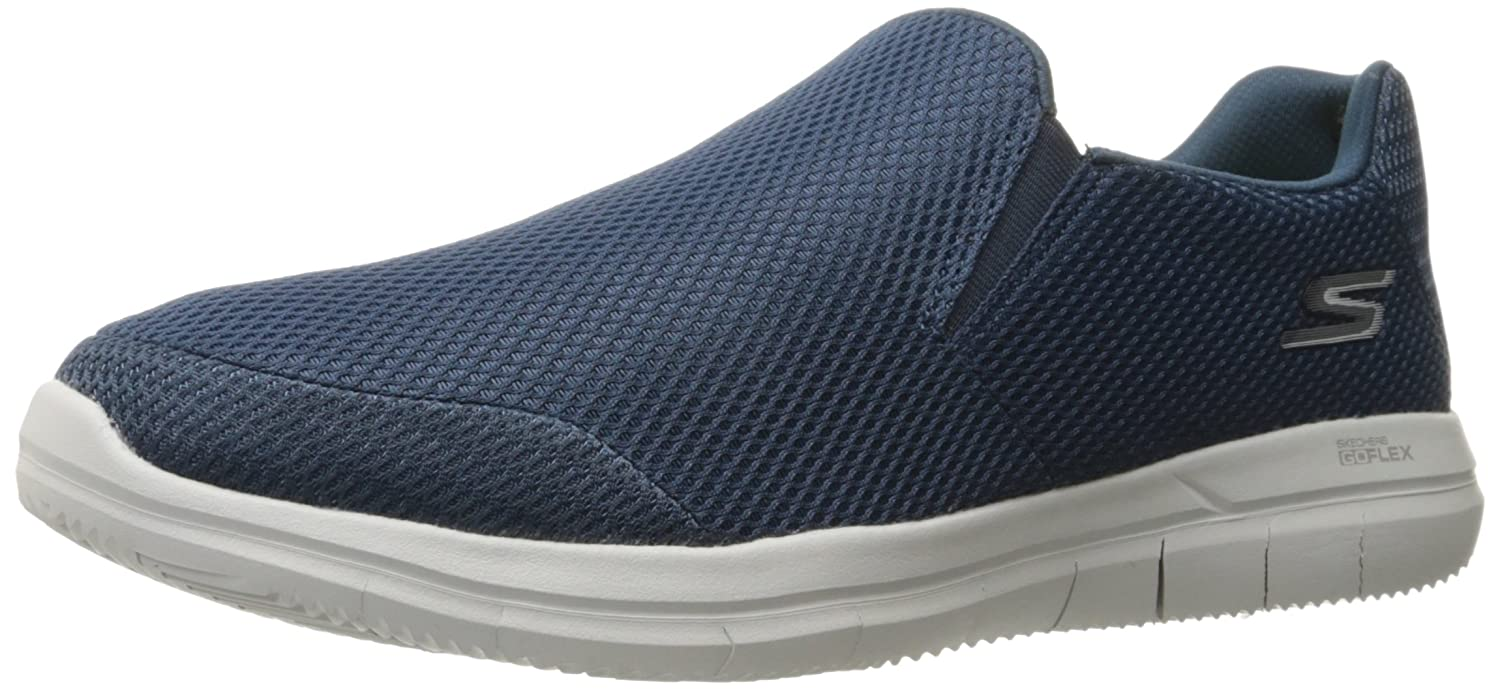 Skechers Equalizer to Coast, Baskets Homme, Bleu (Navy), 42 EU
