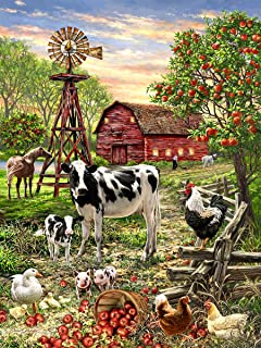 product image for Springbok 36 Piece Jigsaw Puzzle Barnyard Animal
