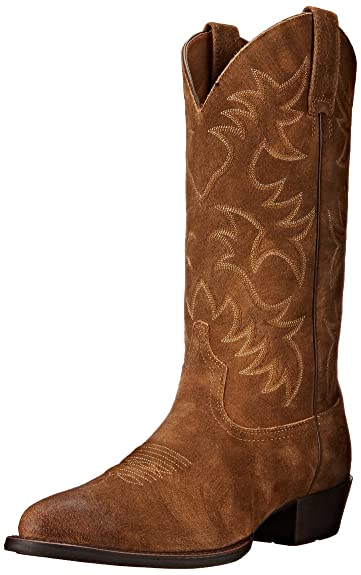 Amazon.com | Ariat Men's Heritage Western R Toe Cowboy Boot | Western