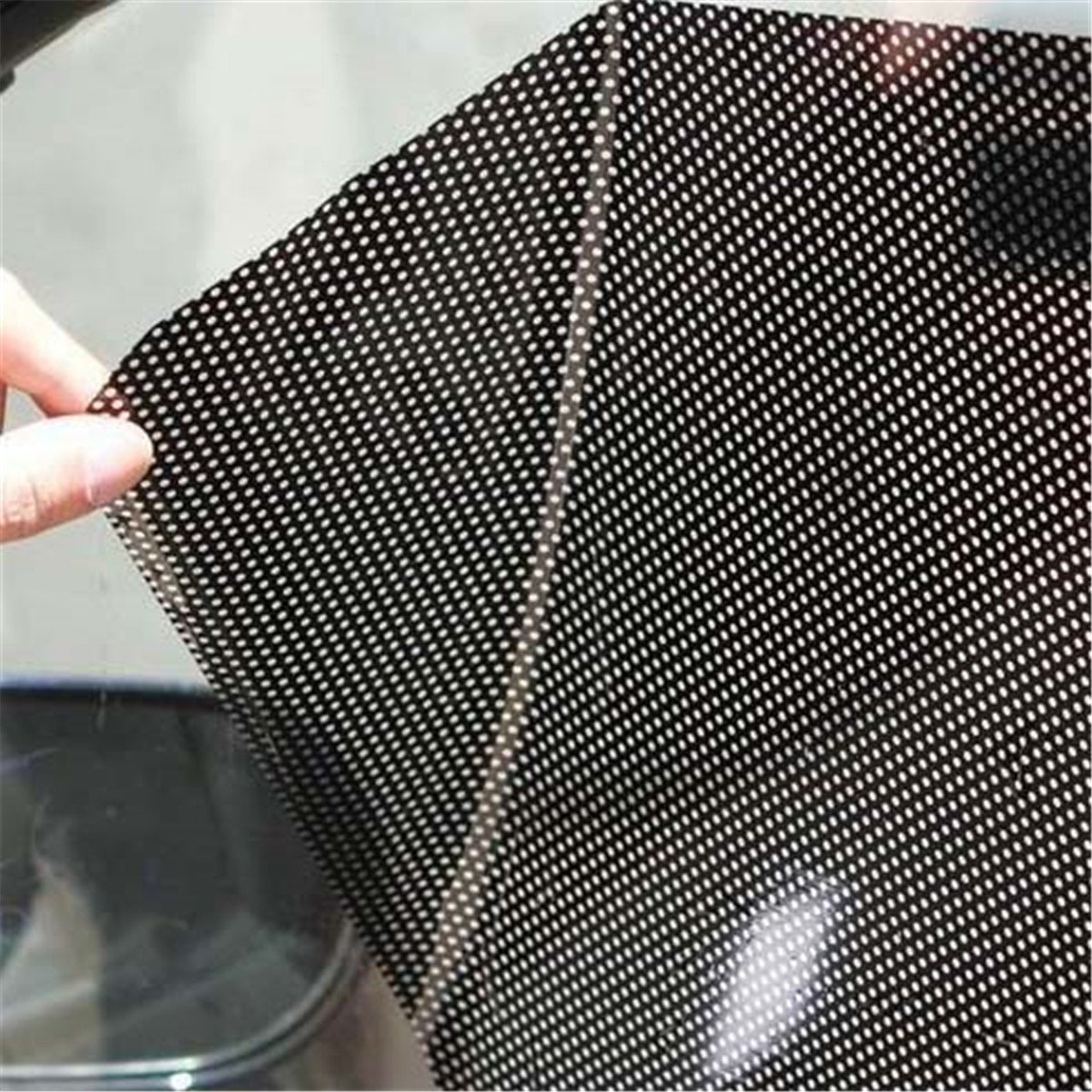 2 teile//los 63x42 cm Uv Aufkleber Auto Sonnenschirm Elektrostatische Aufkleber ECYC Auto Fenster Schatten Aufkleber f/ür Seiten und Heckscheibe