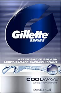 Gillette Series Cool Wave After Shave, 3.3 fl oz, 100 ml