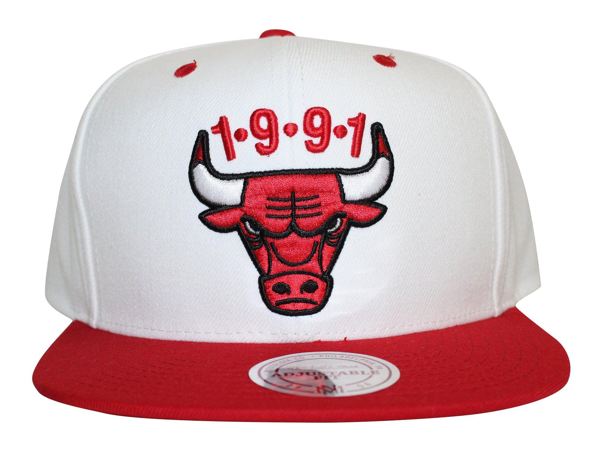 Mitchell & Ness Chicago Bulls NBA 1991 Adjustable Snapback Hat