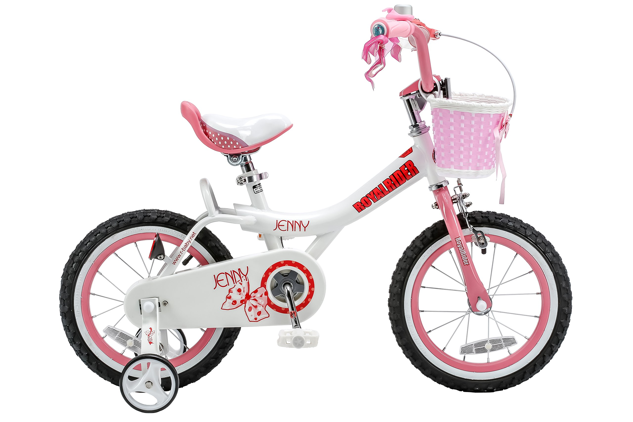 Royalbaby Jenny Pink 14 inch Kid's Bicycle