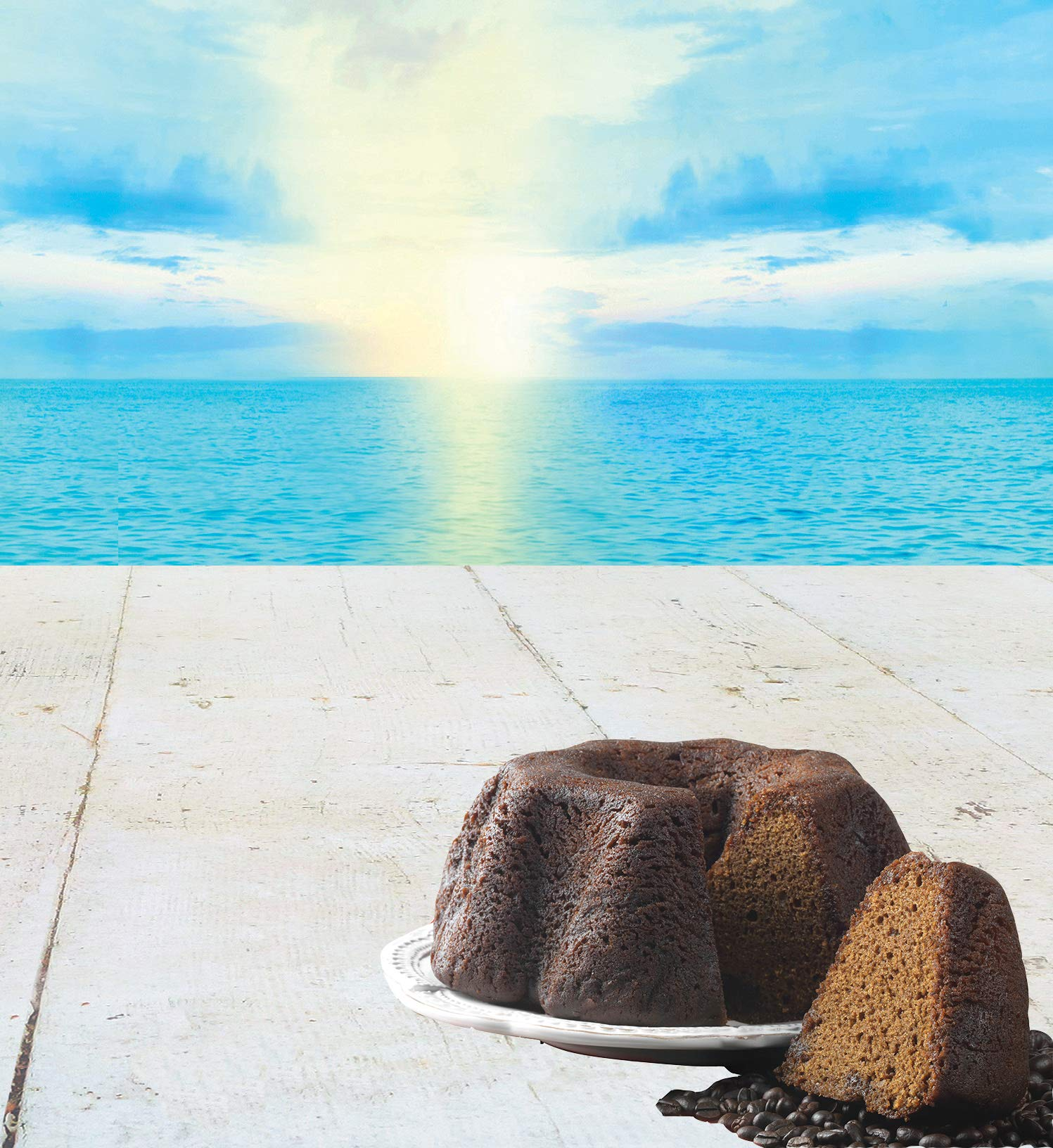 TORTUGA Caribbean Blue Mountain Coffee Rum Cake - 4 oz. - The Perfect Premium Gourmet Gift by TORTUGA (Image #3)