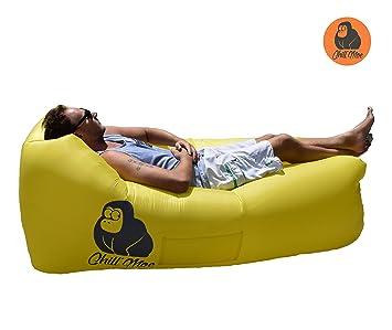 Chillmoe Luftsofa Air Lounger Sitzsack Aufblasbar Liegesack Air Sofa