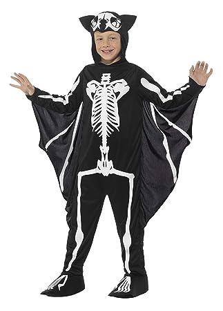Smiffys-45123M Disfraz de Esqueleto de murciélago, con Traje ...