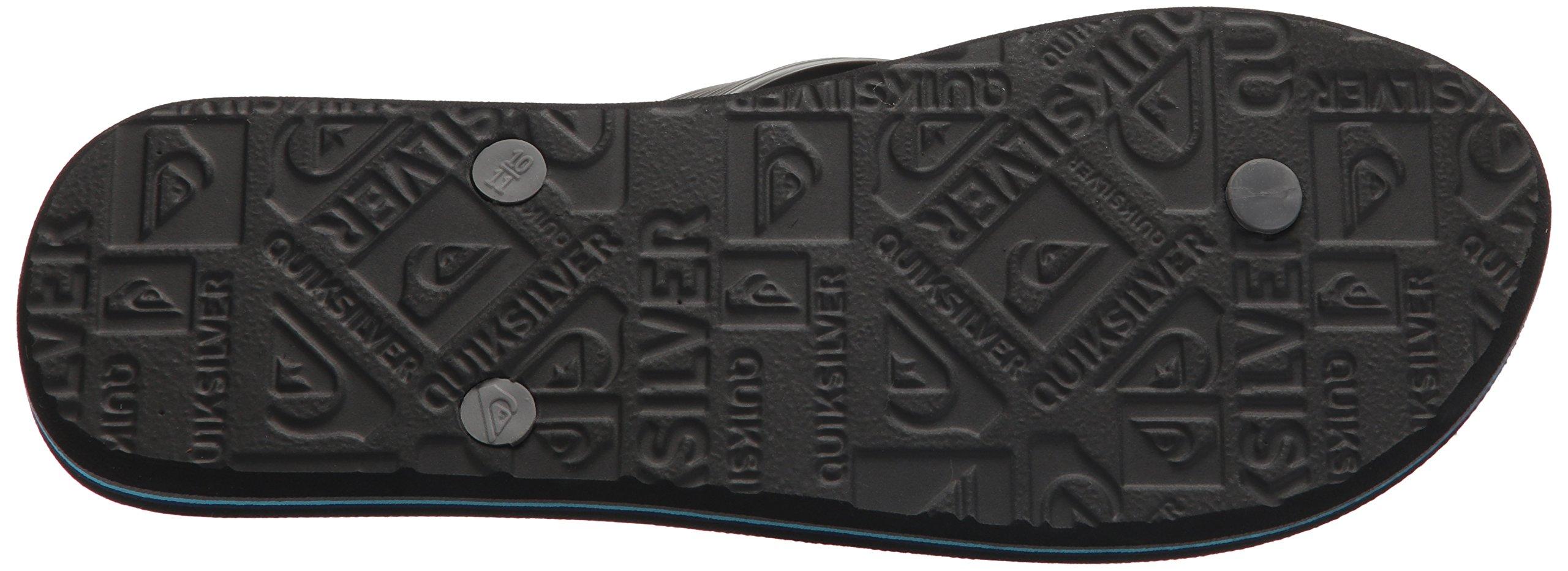 Quiksilver Men's Molokai Slash Sandal, Black/Grey/Blue, 6 D US by Quiksilver (Image #3)