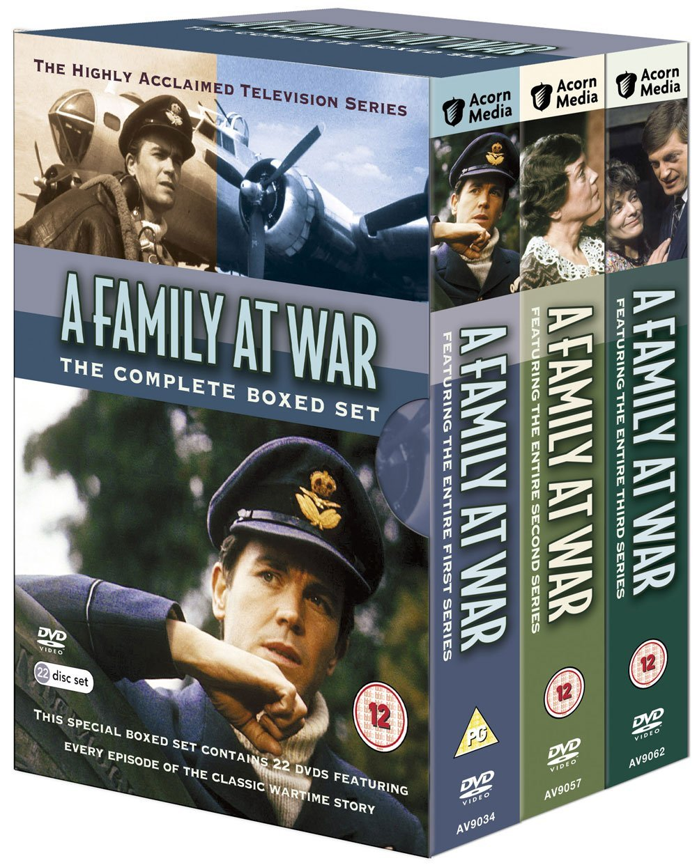 A Family At War - Complete Boxed Set (22 Discs)