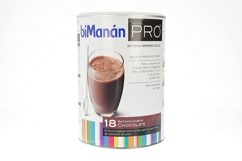 Amazon.com: Bimanán Pro Big Format Chocolate Milkshake 18 Units: Health & Personal Care