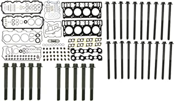 08-10 6.4L Powerstroke Diesel Victor Front Cover Gasket /& Crankshaft Seal Kit