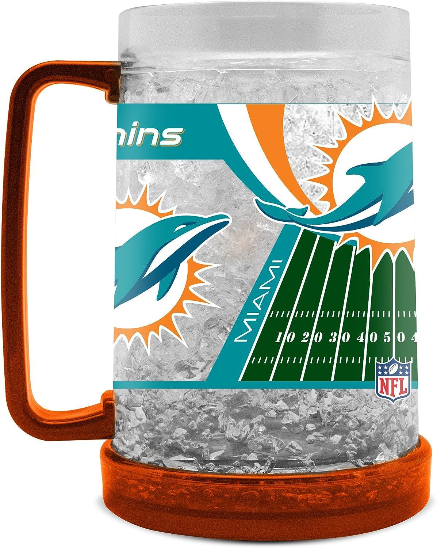 NFL Miami Dolphins 16oz Crystal Freezer Mug