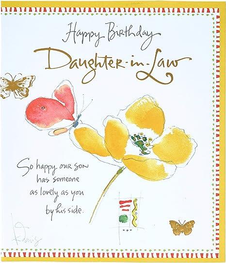 Amazon.com: Tarjeta de felicitación de cumpleaños para hija ...