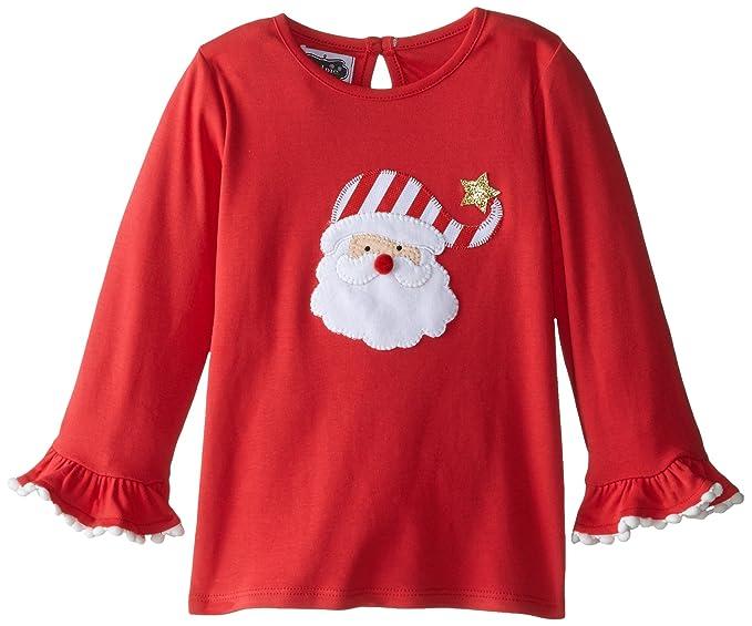Amazon Mud Pie Baby Girls Little Santa Tunic Red White Gold