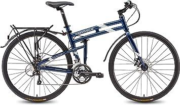 Montague Navigator 21 Speed - Bicicleta Plegable: Amazon.es ...