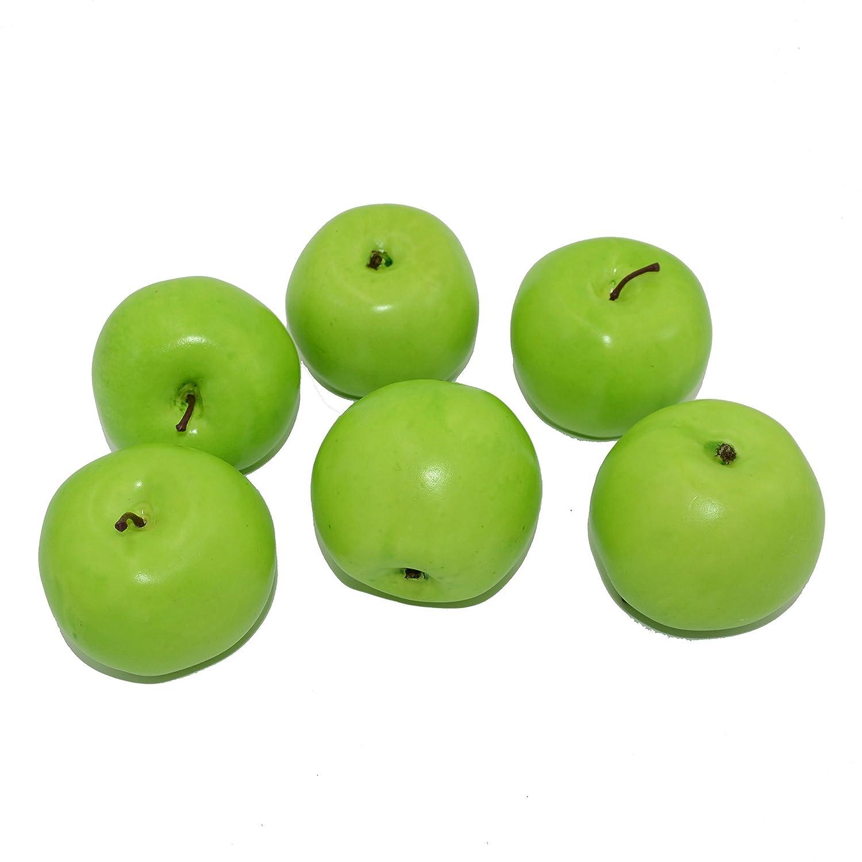 Amazon.com: HZHI Artificial Apples Simulation Fruit Fake ...