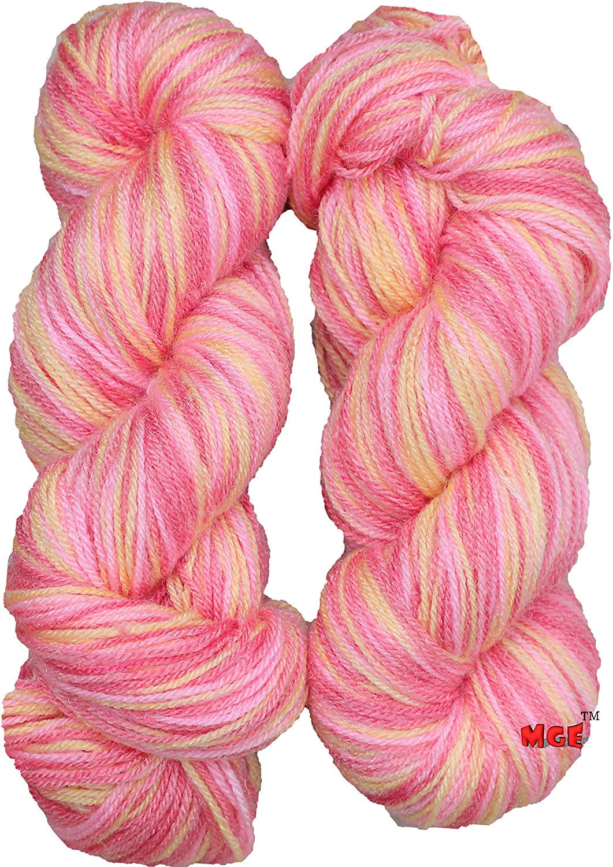 Oswal Knitting Yarn Wool Multi Orange 200 Gm Woolen Crochet Yarn Thread Best Used With Knitting Needles Crochet Needles Wool Yarn For Knitting Best Woolen Thread Amazon In Home Kitchen