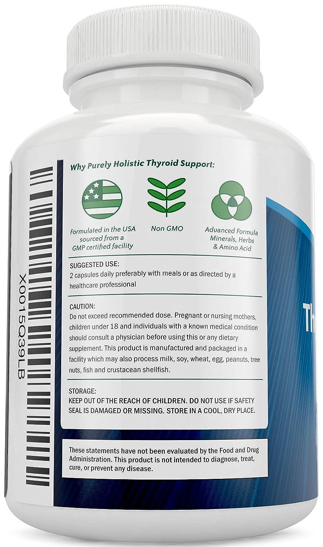 Amazon.com: Suplemento soporte de tiroides, 120 ...