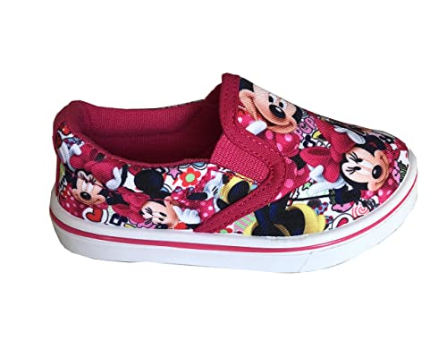 outlet store 4bd88 9b1ab Disney Minnie Scarpe Bimba in Tela Senza Lacci Art.S19314 ...