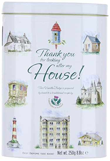 Amazon.com : Gardiners of Scotland Vanilla Fudge Thank You Tins, Home, 8.8 Ounce : Grocery & Gourmet Food