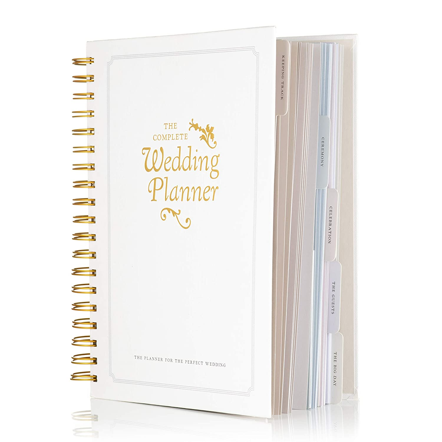 Wedding Planning Book.The Complete Wedding Planner Book And Organiser By Dayworks The Perfect Engagement Gift Includes Checklists Pockets Much More To Help Organise The