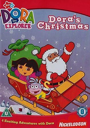 Dora christmas gift wrap