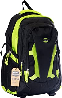 Amazon.com: Sierra Expedition 20 inch Cymba Backpack - Orange/Grey ...