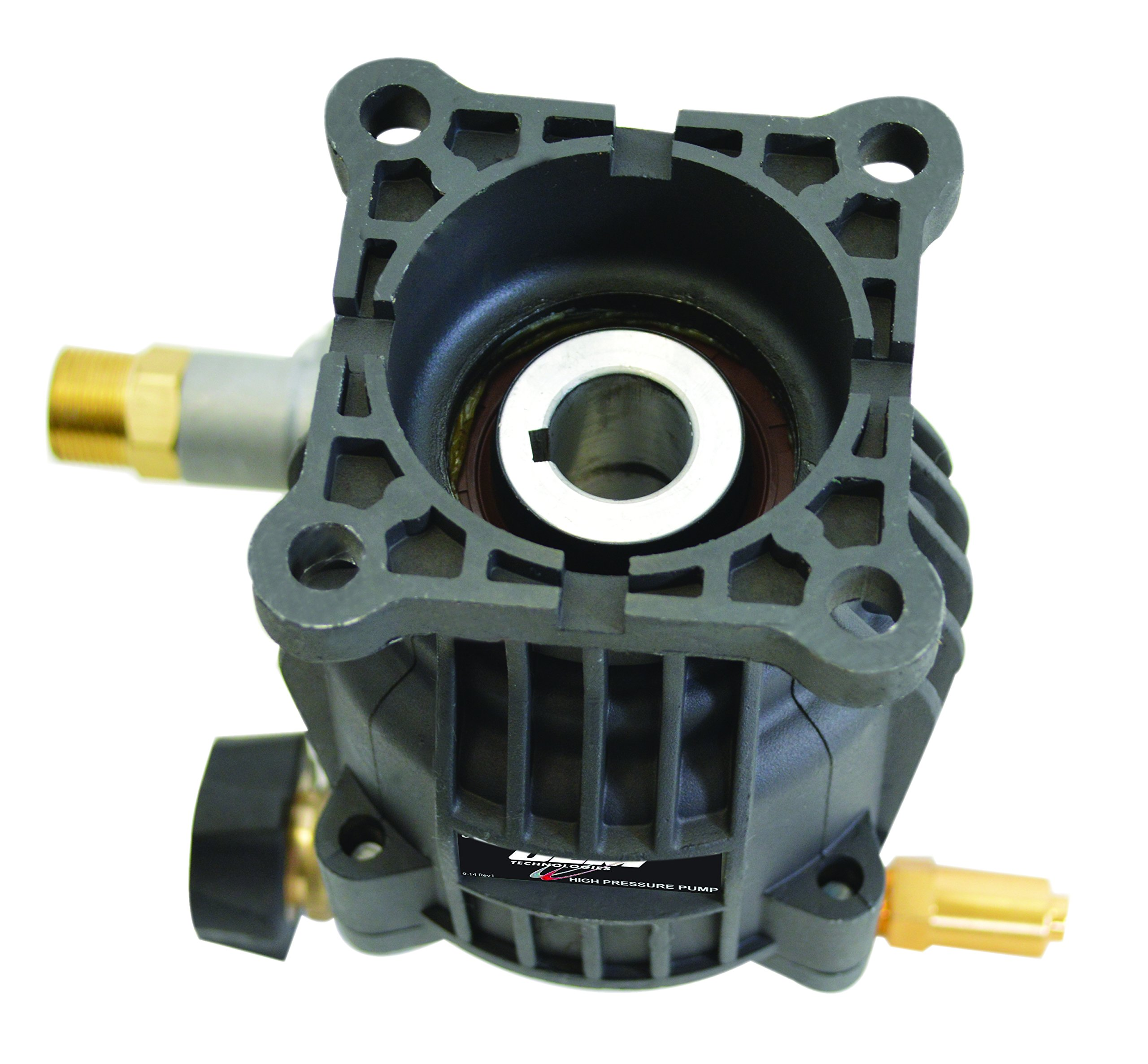 SIMPSON Cleaning 90029 Axial Cam Horizontal Pressure Washer Replacement Pump 8.6CAH12B 3100 PSI @ 2.5 GPM with Brass Head and PowerBoost Technology by Simpson Cleaning (Image #5)