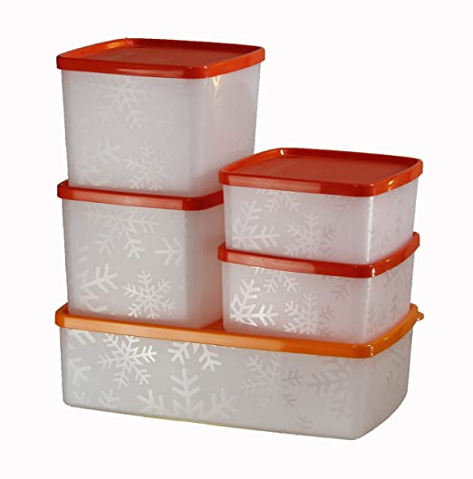 Tupperdosen Set tupperware spiel 5 großen botes conglation amazon de küche