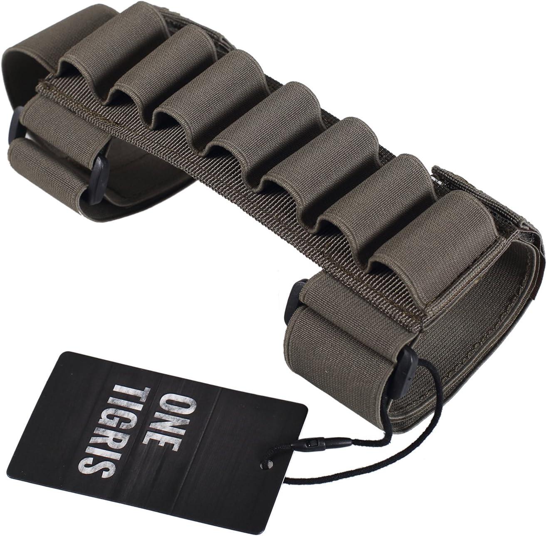 OneTigris 1000D /Étui pour cartouches de plombs /à fixer sur le f/ût de fusils 7/cartouches