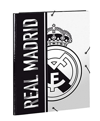 Real Madrid 511854068 2018 Estuches 34 cm, Blanco