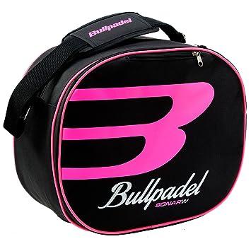 Bolso de pádel Bullpadel 16000 Negro / Rosa para mujer: Amazon.es: Deportes y aire libre