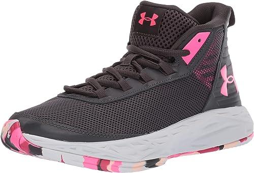 comerciante Político ventajoso  Under Armour Girls' Grade School 2018 Basketball Shoe, Jet Gray (100)/Mojo  Pink, 3.5 M US Big Kid: Amazon.ca: Shoes & Handbags