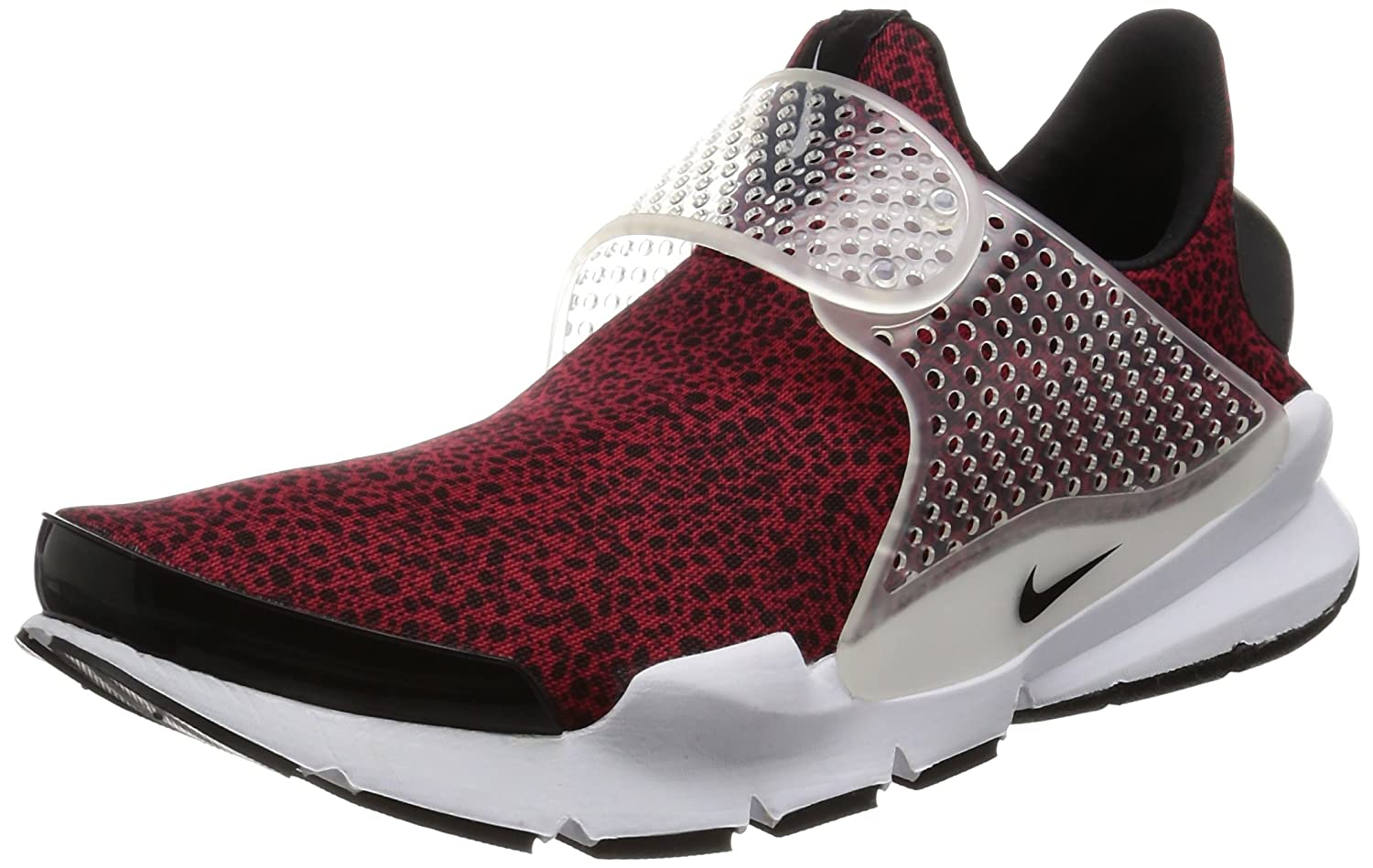 on sale e90af 20fd6 Nike Men Sock Dart Qs Safari Pack red Gym red Black-White Size 12. 0 US   Buy Online at Low Prices in India - Amazon.in