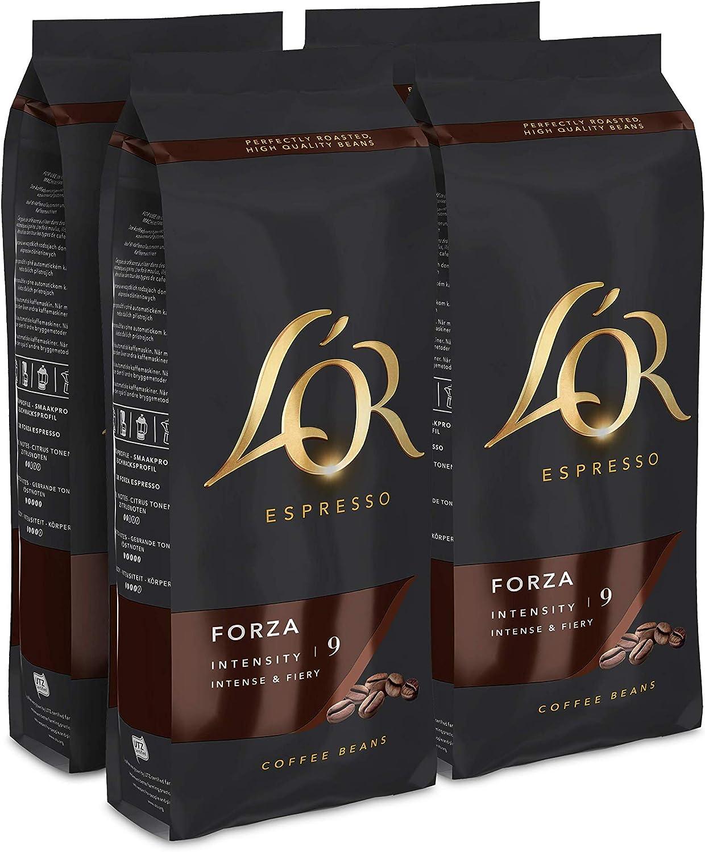 L'OR Café Grano Forza - 4 paquetes de 500gr (2000gr)