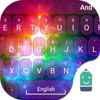 Rainbow Light Theme&Emoji Keyboard