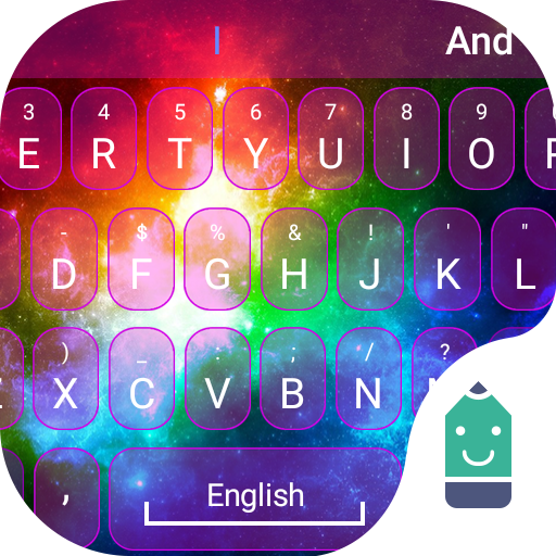 Rainbow Light Theme&Emoji Keyboard