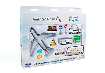 amazon daron american airlines airport playset アメリカン航空