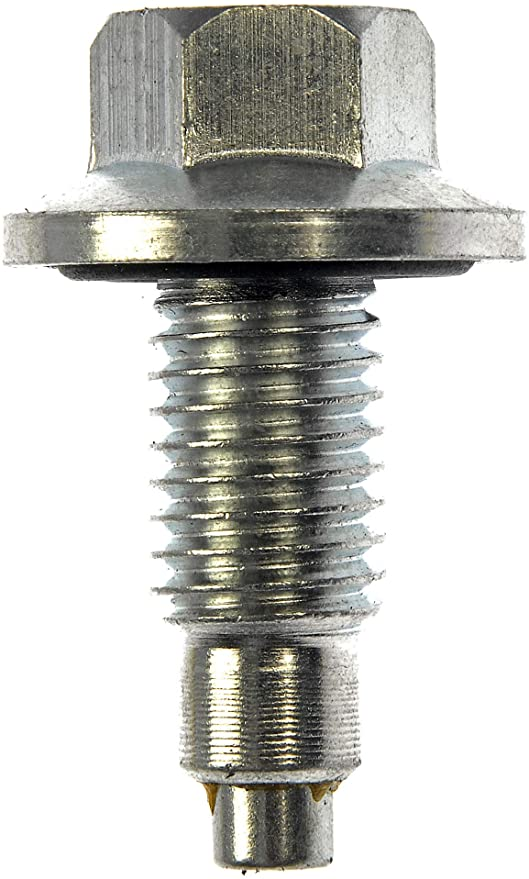 Dorman 090-034CD Oil Drain Plug Pilot Point M12-1.75 Head Size 15mm for Select Models