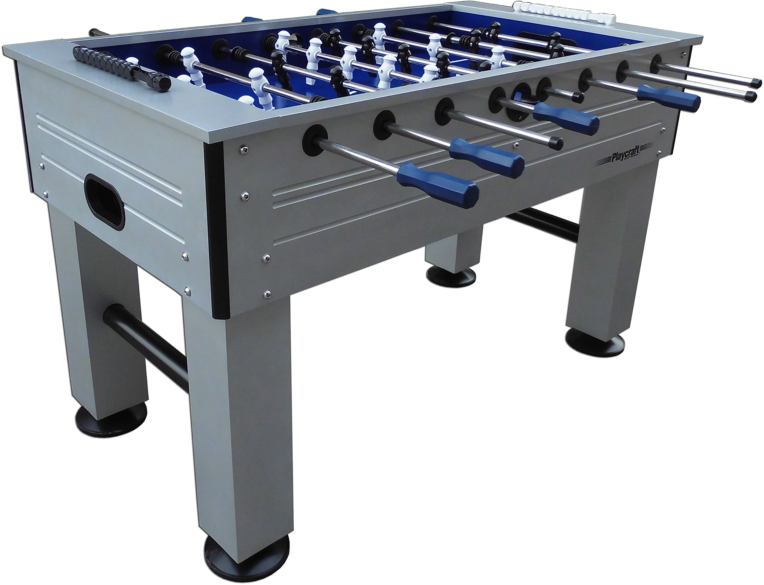 Playcraft Extera Outdoor Foosball Table, Silver by Playcraft