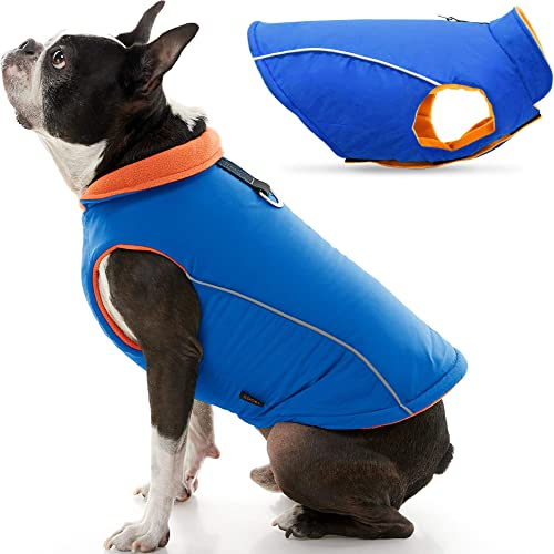Gooby-Sports-Dog-Vest-Fleece-Lined-Dog-Jacket-Coat-with-D-Ring-Leash