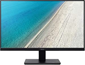 "Acer V227Q bip 21.5"" Full HD (1920 x 1080) IPS Monitor (Display Port, HDMI & VGA), Black"