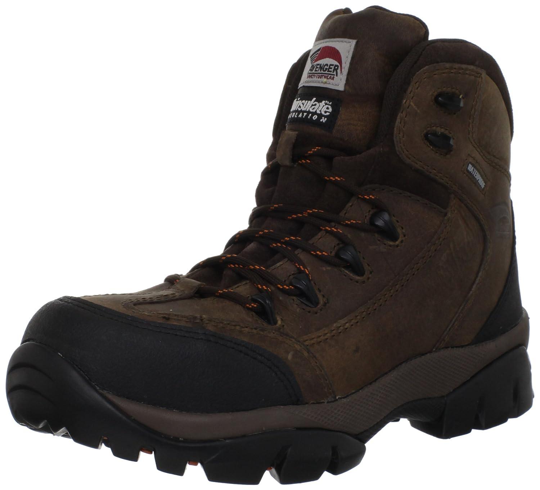 Avenger Safety Footwear メンズ B005BKCJ4E 14 D(M) US|ブラウン ブラウン 14 D(M) US
